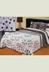 TINA ágytakaró - mályva, bordó