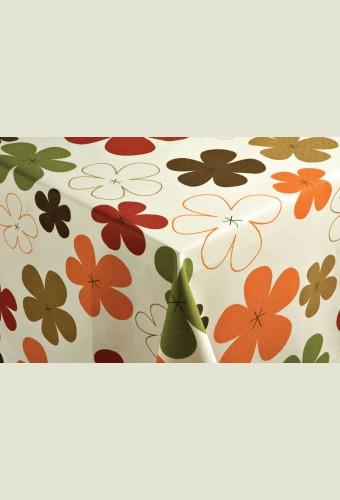 Sabine vízlepergető dekoranyag - narancs 5331600d22