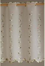 Kisvirágos vitrázsfüggöny