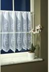 Fehér csipke vitrázs függöny