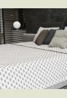 KELLY ágytakaró - szürke